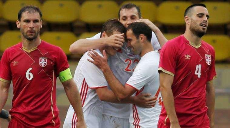 Nỗi thất vọng của cầu thủ Serbia
