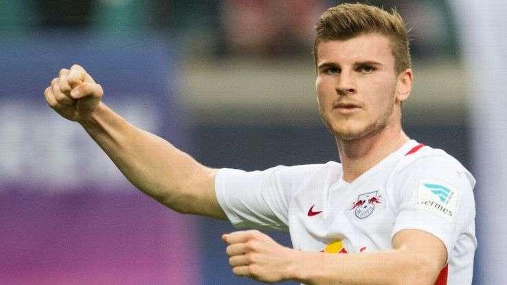 Ước mơ hồi bé của Werner là được thi đấu cho Man United