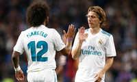 Marcelo và Modric to tiếng giữa trận thua trước Girona