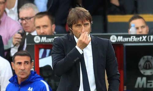 Thua đội bét bảng, Conte đổ lỗi cho bão chấn thương