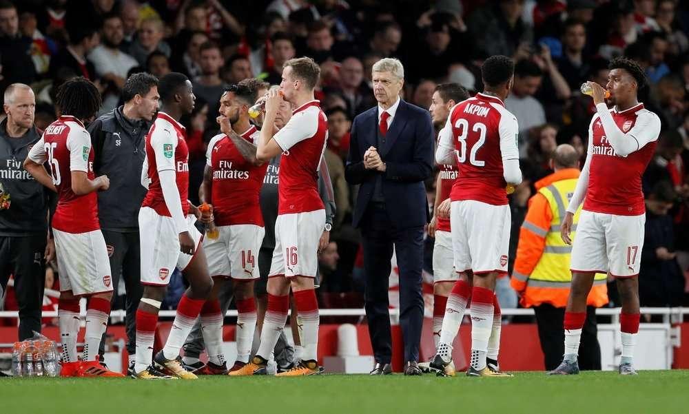 Arsenal rất mạnh trên sân nhà