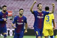 Barca 3-0 Las Palmas: Barca đại thắng trên sân không bóng người