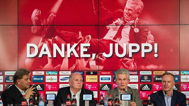 Jupp Heynckes chính thức trở lại làm HLV Bayern Munich