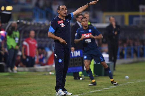 Sarri giúp Napoli thăng hoa ở Serie A