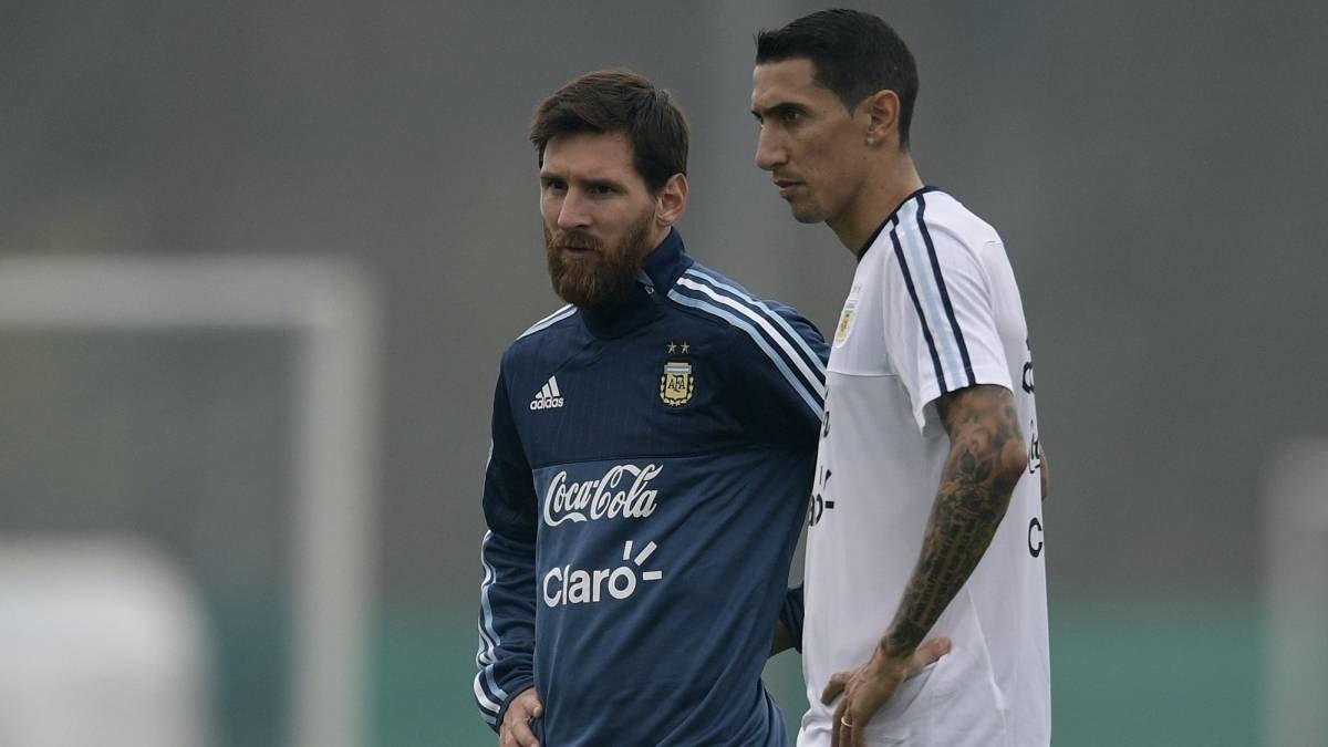Di Maria nhờ Messi giúp về Barca