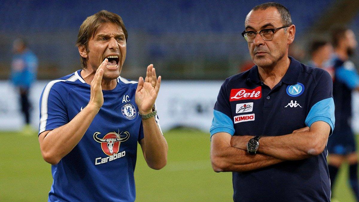 Sarri là lựa chọn hàng đầu của Chelsea để thay Conte