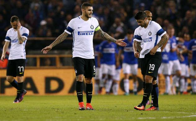 Đánh bại Sampdoria, Inter Milan sẽ tạm thời chiếm ngôi đầu Serie A