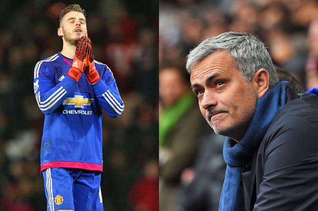 Mourinho và MU không vội vàng với De Gea vì tin chắc sẽ giữ chân được thủ thành này