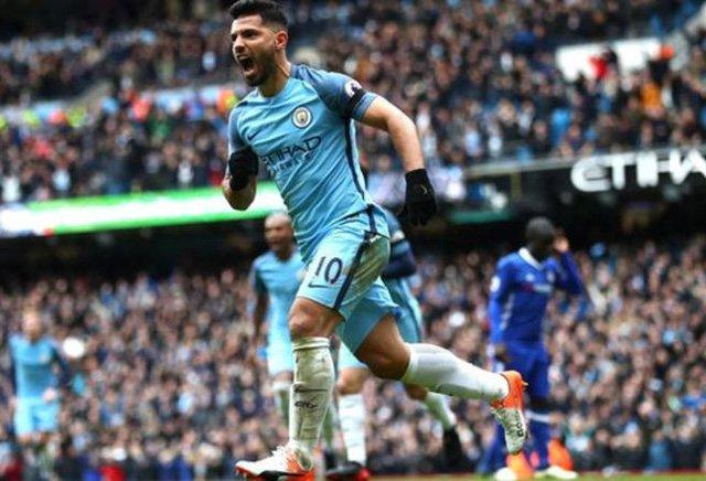 Aguero đã trở thành chân sút xuất sắc nhất trong lịch sử Man City