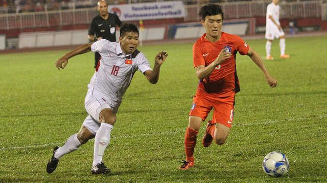 Đội tuyển U23 Việt Nam có thể tái ngộ U23 Hàn Quốc tại VCK U23 châu Á 2018