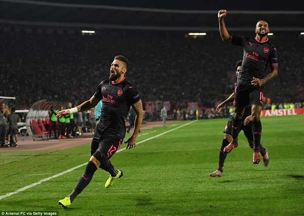 Giroud hé lộ điều bất ngờ về bàn thắng siêu phẩm ở Europa League