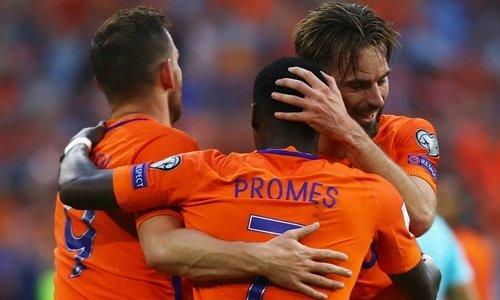 Hà Lan thuộc nhóm hạt giống của giải Vô địch châu Âu 2018