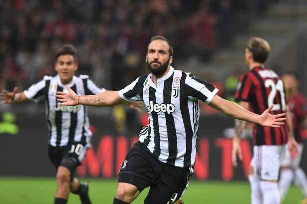 Higuain tỏa sáng, Juve nhấn chìm Milan