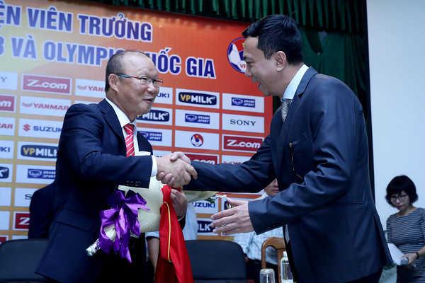 HLV Park Hang Seo đưa ra mục tiêu mơ hồ cho bóng đá Việt Nam