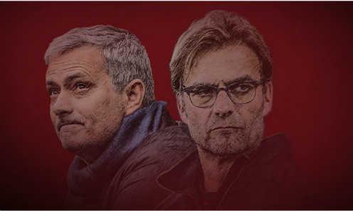Klopp lấn áp Mourinho trước đại chiến nước Anh