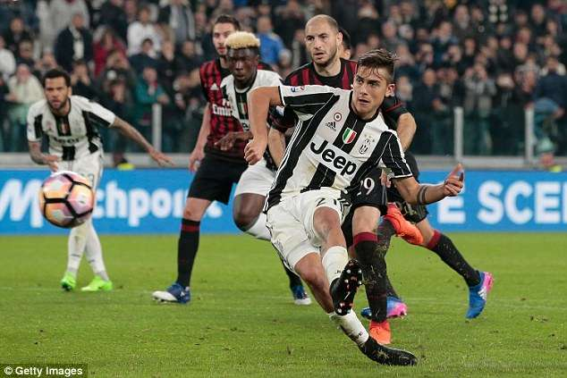 Juventus những mùa gần đây được đánh giá cao hơn hẳn Milan