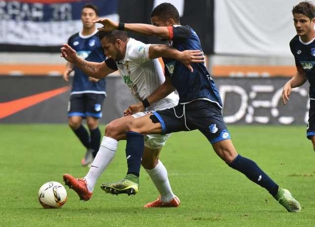 Hoffenheim vs Augsburg vòng 34 giải bóng đá VĐQG Đức Bundesliga