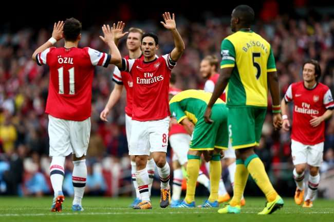 Arsenal vs Norwich City đêm nay 25/10/2017 League Cup