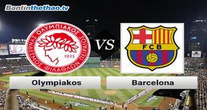 Link xem trực tiếp, link sopcast Barca vs Olympiakos đêm nay 19/10/2017 Champions League