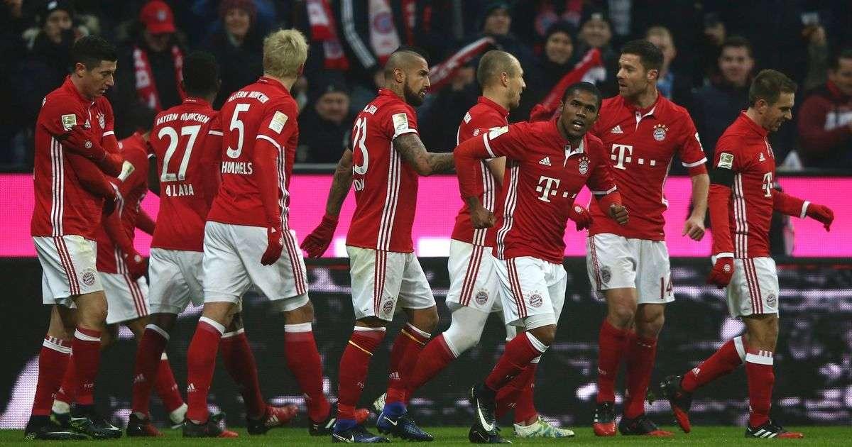 Bayern vs RB Leipzig đêm nay 28/10/2017 vô địch Bundesliga