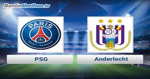 Link xem trực tiếp, link sopcast PSG vs Anderlecht đêm nay 1/11/2017 Champions League