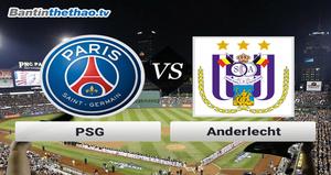 Link xem trực tiếp, link sopcast PSG vs Anderlecht đêm nay 19/10/2017 Champions League
