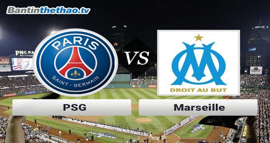 Link xem trực tiếp, link sopcast PSG vs Marseille đêm nay 23/10/2017 giải vô địch Ligue 1