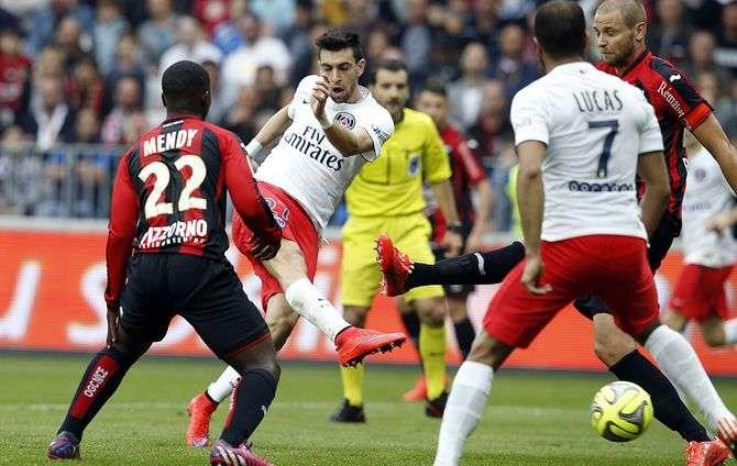 PSG vs Nice đêm nay 28/10/2017 giải vô địch Ligue 1