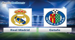 Link xem trực tiếp, link sopcast Real vs Getafe đêm nay 14/10/2017 VĐQG Tây Ban Nha La Liga