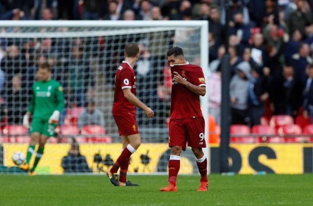 Liverpool vừa thua đau trước Tottenham