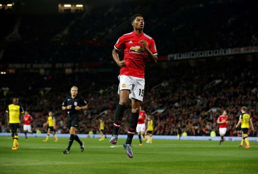 Rashford có thể dẫn dắt hàng công của Man United