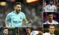 """Hàng công tệ là lý do vì sao Real """"hụt hơi"""" trong cuộc đua vô địch với Barca"""