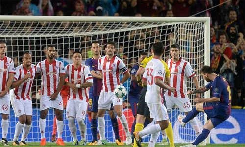 Vượt mặt Ronaldo, Messi nhanh chóng chạm mốc 100 bàn tại các Cup châu Âu