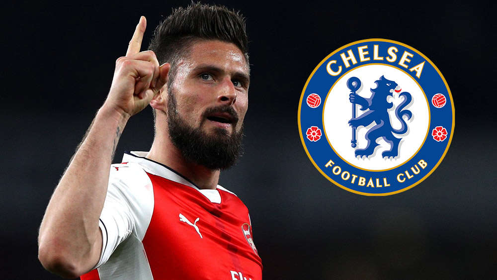 Conte muốn đưa Giroud về Chelsea