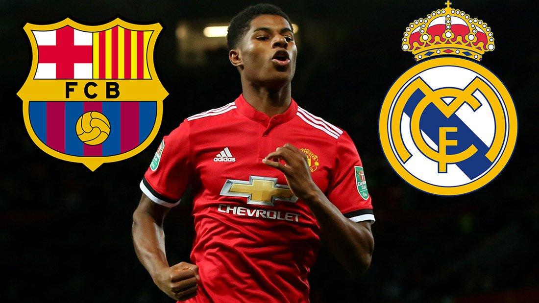 Rashford được cả Barca và Real nhắm đến