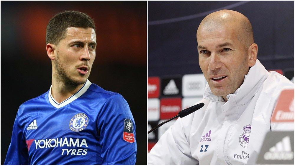 Zidane quyết đưa Hazard về Real Madrid