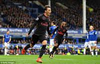 Mesut Ozil lập kỷ lục về kiến tạo tại Premier League