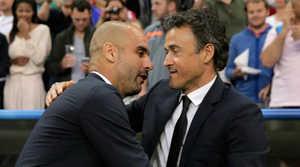 Pep Guardiola ủng hộ Enrique dẫn dắt Bayern Munich