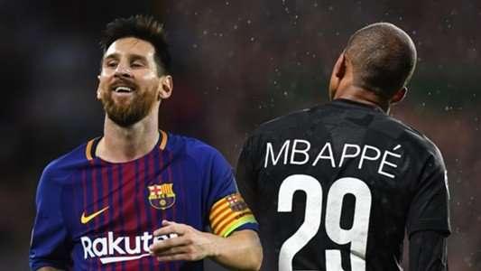 Mbappe hơn Messi ở cùng tuổi 18