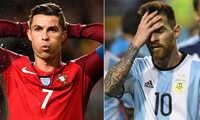 World Cup 2018: Messi và Ronaldo đều có nguy cơ vắng mặt