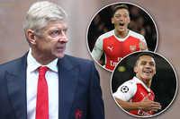 HLV Wenger tính bán cả Mesut Ozil lẫn Alexis Sanchez