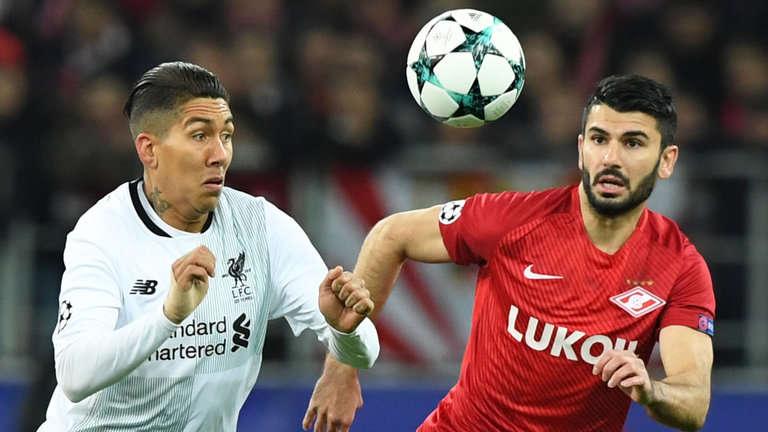 Liverpool hòa trên sân của Spartak Moscow
