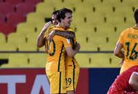Australia bị Syria cầm hòa trong trận play-off lượt đi vòng loại World Cup 2018