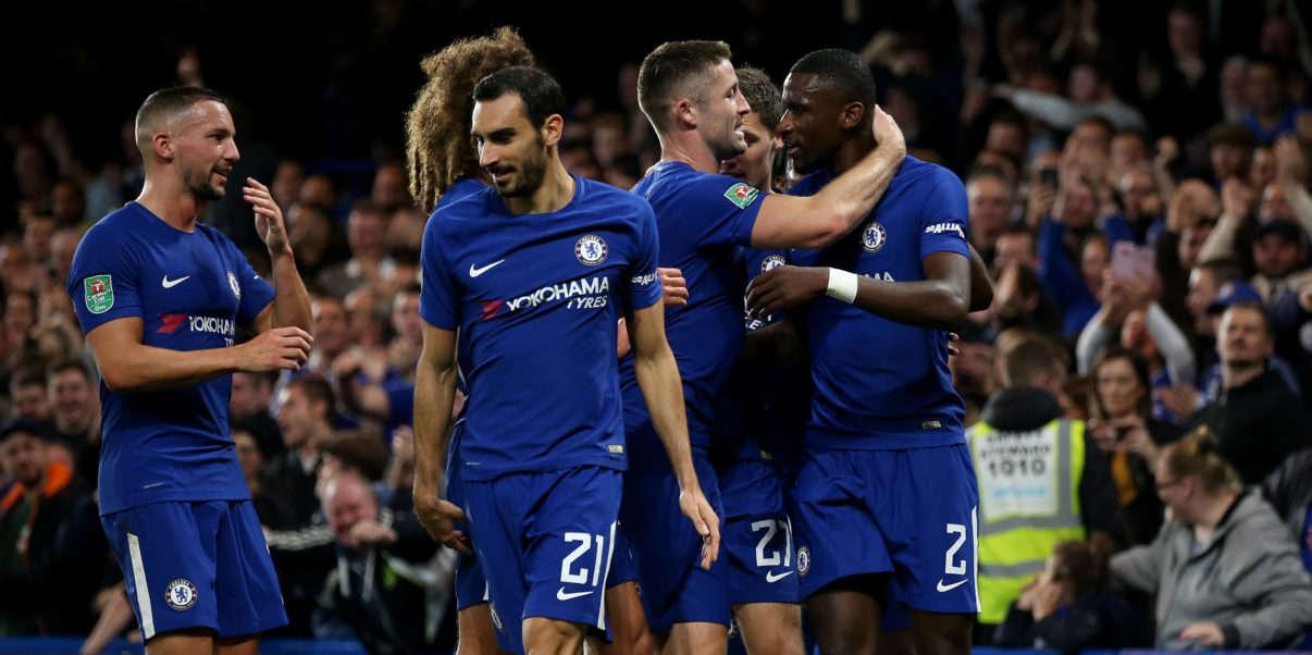 Thắng nghẹt thở, Chelsea tiếp tục có mặt ở vòng trong League Cup