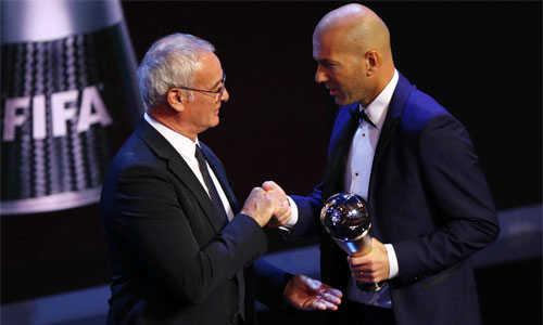 Zidane giành giải thưởng HLV hay nhất FIFA