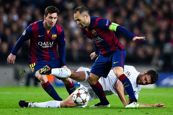 """""""Bầy Dơi"""" luôn luôn vấp ngã mỗi khi gặp Barca bất kể phong độ có là như thế nào đi chăng nữa"""