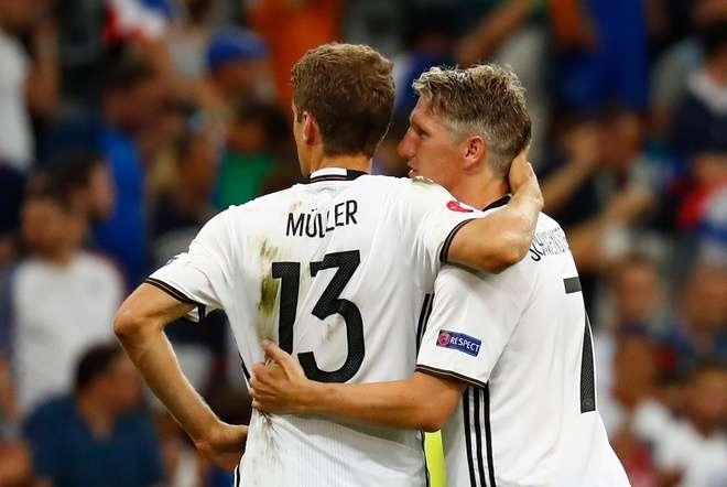 Đức đã từng thua Pháp ở Euro 2016