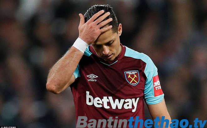 Chicharito phủ nhận tin đồn muốn rời khỏi West Ham