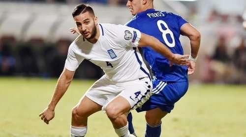Hy Lạp sẽ thiếu Kosta Manolas ở hàng thủ
