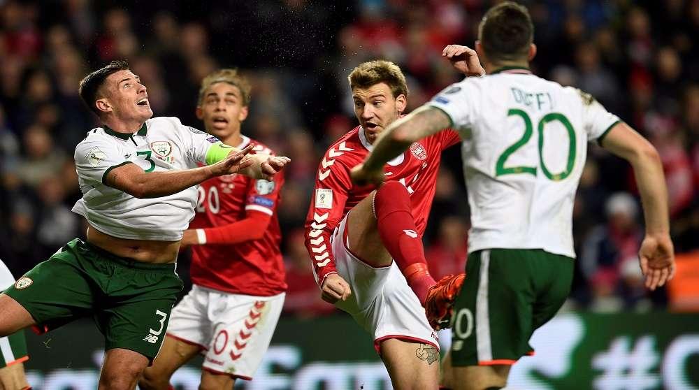 Ireland và Đan Mạch sẽ phải giải quyết thắng thua ở Aviva
